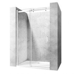 Drzwi prysznicowe, wnękowe rozsuwane Nixon Rea 110 CM Lewe
