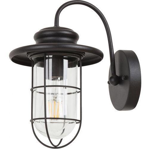 Lampy ścienne, Kinkiet Rabalux Pavia 8069 lampa ogrodowa zewnętrzna 1x60W E27 IP44 czarny mat