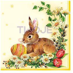 Serwetki lunch Wielkanoc -Jajka z baziami