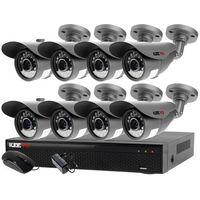 Zestawy monitoringowe, Zestaw do monitoringu zewnętrzne kamery 8 x LV-AL20MT + Rejestrator LV-XVR84N