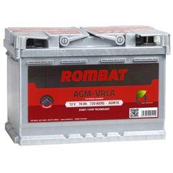 Akumulator ROMBAT AGM START&STOP 70Ah 720A