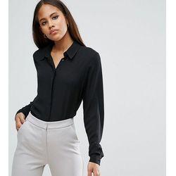 ASOS DESIGN Tall soft shirt - Black