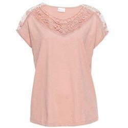 Shirt basic, długi rękaw (2 szt.) bonprix czerwona pomarańcza + błękitny