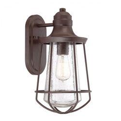 Zewnętrzna LAMPA wisząca KL/LYNDON8/S Elstead KICHLER metalowa OPRAWA ogrodowy ZWIS IP23 outdoor brązowy