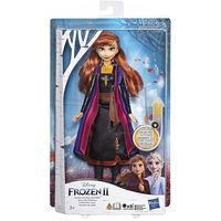 Lalki dla dzieci, Lalka Kraina Lodu 2 (Frozen 2) Magiczna podświetlana suknia Anna