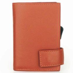 SecWal SecWal 1 Kreditkartenetui Geldbörse RFID Leder 9 cm orange ZAPISZ SIĘ DO NASZEGO NEWSLETTERA, A OTRZYMASZ VOUCHER Z 15% ZNIŻKĄ