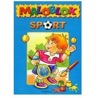 Książki dla dzieci, Sport Maloblok (opr. miękka)
