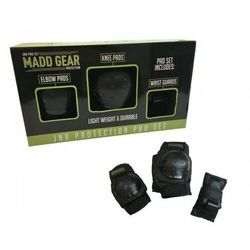 Zestaw ochraniaczy Madd Gear nakolanniki i ochraniacze na łokcie i nadgarstki