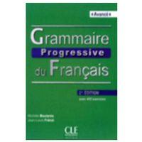 Książki do nauki języka, Grammaire Progressive Du Francais Avance Książka Z Cd 2 Edycja (opr. miękka)