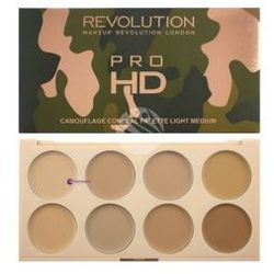 Makeup Revolution Ultra Pro HD Camouflage (W) paleta korektorów do twarzy Light/Medium 10g