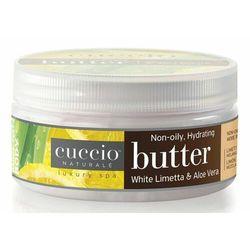 Cuccio PAPAYA & GUAVA NECTAR BUTTER BLEND Nawilżające masło do dłoni, stóp i ciała z wyciągiem z papai i nektaru guawy (226 g.)