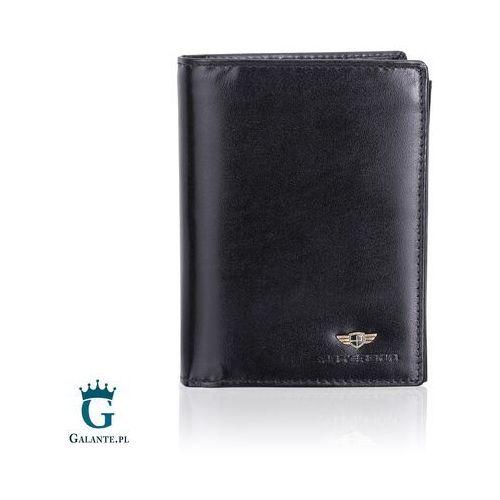 Portfele i portmonetki, Pionowy Portfel Męski RFID z miejscem na dowód rejestracyjny 348