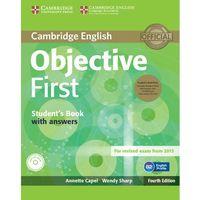 Językoznawstwo, Objective First 4th Edition. Podręcznik z Kluczem + CD-ROM + CD (opr. miękka)