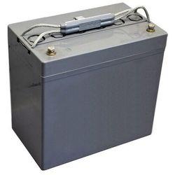 Akumulator żelowy 12V, 60Ah (odpowiednik 55Ah) do wózków elektrycznych, skuterów inwalidzkich