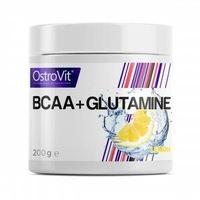 Aminokwasy, OSTROVIT BCAA + Glutamine - 200g - Lemon