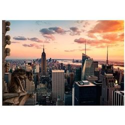 Fototapeta - Nowy Jork: wieżowce i zachód słońca