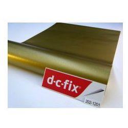 Okleina meblowa dc fix metaliczna złota szczotkowana platyna 202-1201