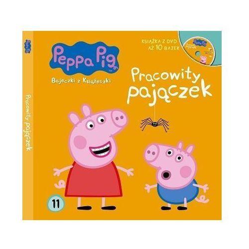 Książki dla dzieci, Świnka Peppa 11 Pracowity pajączek - Praca zbiorowa
