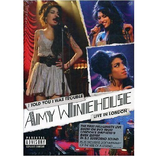 Muzyczne DVD, Amy Winehouse - I TOLD YOU I WAS TROUBLE - Zakupy powyżej 60zł dostarczamy gratis, szczegóły w sklepie