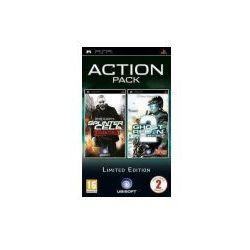 Tom Clancy's Splinter Cell: Essentials + Tom Clancy's Ghost Recon Advanced Warfighter 2 (PSP)