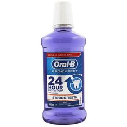 ORAL-B Pro-Expert Strong Teeth 500 ml - płyn do płukania jamy ustnej (fioletowy)