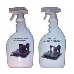 Zestaw nagrobkowy: mycie i zabezpieczenie