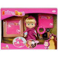 Lalki dla dzieci, Masza i Niedzwiedź Aparat fotograficzny - Simba Toys