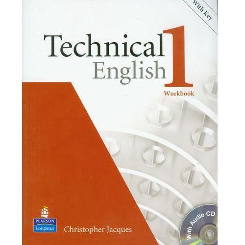 Książki do nauki języka, Technical English 1 Workbook z płytą CD (opr. miękka)