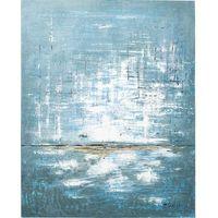 Obrazy, KARE Design:: Obraz Abstract Blue One 150x120cm