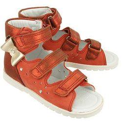 BARTEK 86803 ST4 czerwony, obuwie profilaktyczne dziecięce; rozmiary: 27-32 - Czerwony