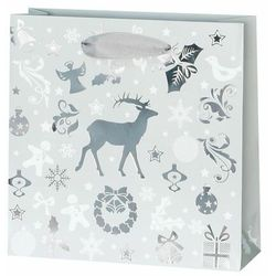 Torebka na prezenty Celebrate christmas 6 x 17 cm