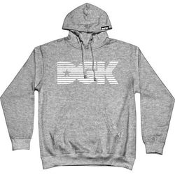 bluza DGK - Levels Hooded Fleece Gunmetal Heather (GUNMETAL HEATHER) rozmiar: M