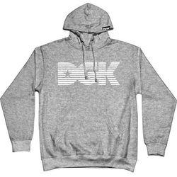 bluza DGK - Levels Hooded Fleece Gunmetal Heather (GUNMETAL HEATHER)