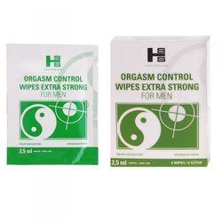 Orgasm Control Wipes - CHUSTECZKI NAWILŻONE OPÓŹNIACZEM ORGAZMU