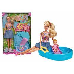 Steffi zabawa w basenie