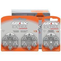 30 x baterie do aparatów słuchowych Rayovac Extra Advanced 13 MF