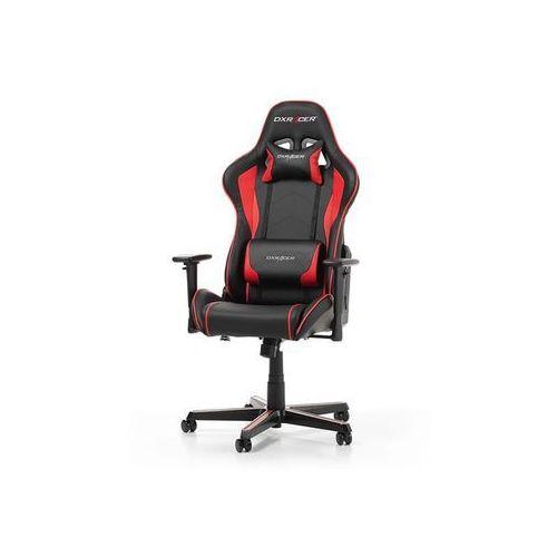 Fotele dla graczy, Fotel DXRacer Formula Gaming czarno-czerwony OH/FH08/NR Darmowy odbiór w 21 miastach!