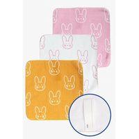 Ręczniki dla dzieci, Ręczniki Króliczki 30x30cm 3-pack 6Y38A2 Oferta ważna tylko do 2023-07-02