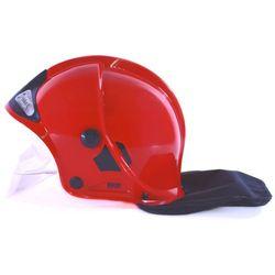 Klein Hełm strażacki czerwony z szybką