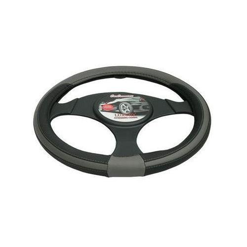 Pokrowce na kierownice, Pokrowiec na kierownicę 37-39,5 Luxury szary