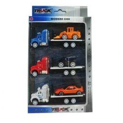 Ciężarowe Pojazdy 3-pack. Wiek: 5+