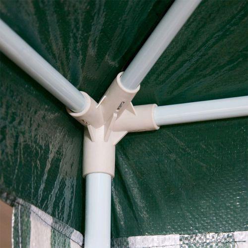 Namioty ogrodowe, ZIELONY PAWILON OGRODOWY 3x3 + 4 ŚCIANKI NAMIOT HANDLOWY - Zielony