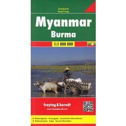 Birma mapa 1:1 000 000 Freytag & Berndt (opr. twarda)