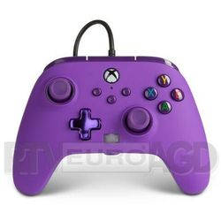 PowerA Pad przewodowy Xbox Series / Xbox One Enhanced Royal Purple