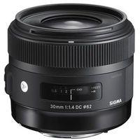Obiektywy do aparatów, Sigma obiektyw digital A 30/1.4 DC HSM Canon