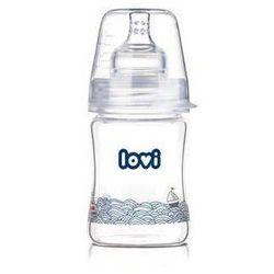 LOVI Butelka szklana Diamond Glass Marine 150ml 74/101