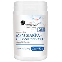 Aliness - Siarka Organiczna OptiMSM - 250g