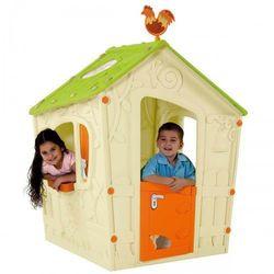 Mały domek dla dzieci Keter Magic Playhouse kremowy - Transport GRATIS!
