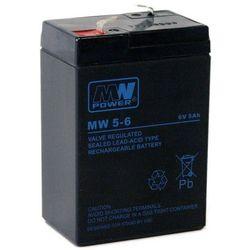 Akumulator żelowy 6,0V/5Ah MW Pb 70x47x101mm 6-9