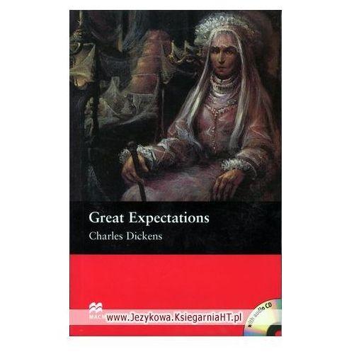 Książki do nauki języka, Great Expectations Plus Audio CD (Wielkie Nadzieje) Macmillan Readers Upper Intermediate (opr. miękka)